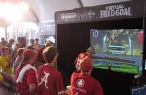 Football Simulator at Event